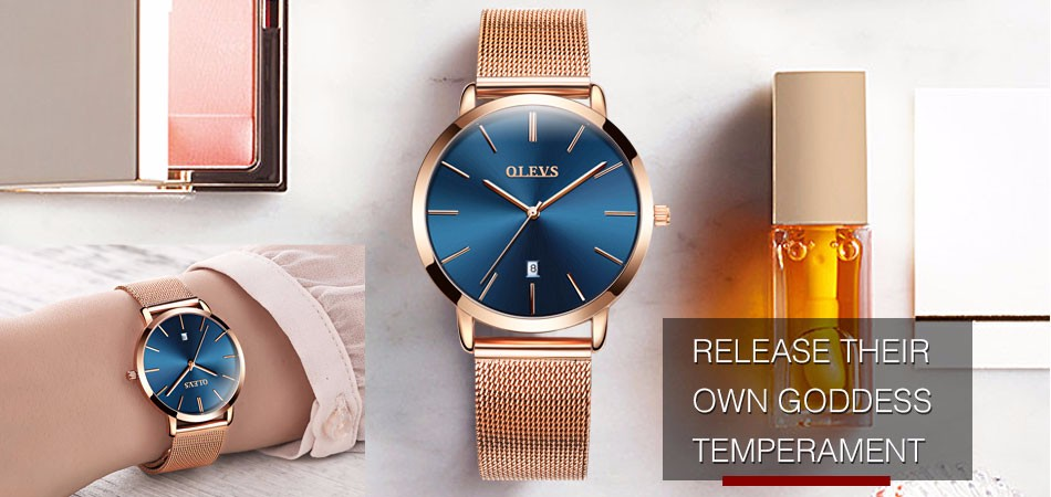 334e327e7c0 Luxury Women Watches Simple Ladies Steel Watch Rose Gold Elegant Minimalism  Casual Black Female Waterproof Clock for Girl 2018
