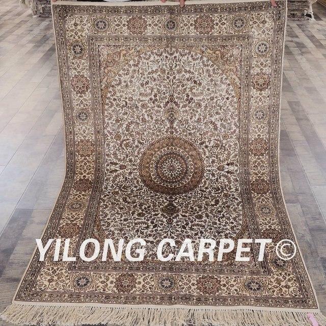 Yilong 4 X6 Turkish Silk Carpet Traditional Vantage Antique Persian Rugs Guide Rsl053a4x6