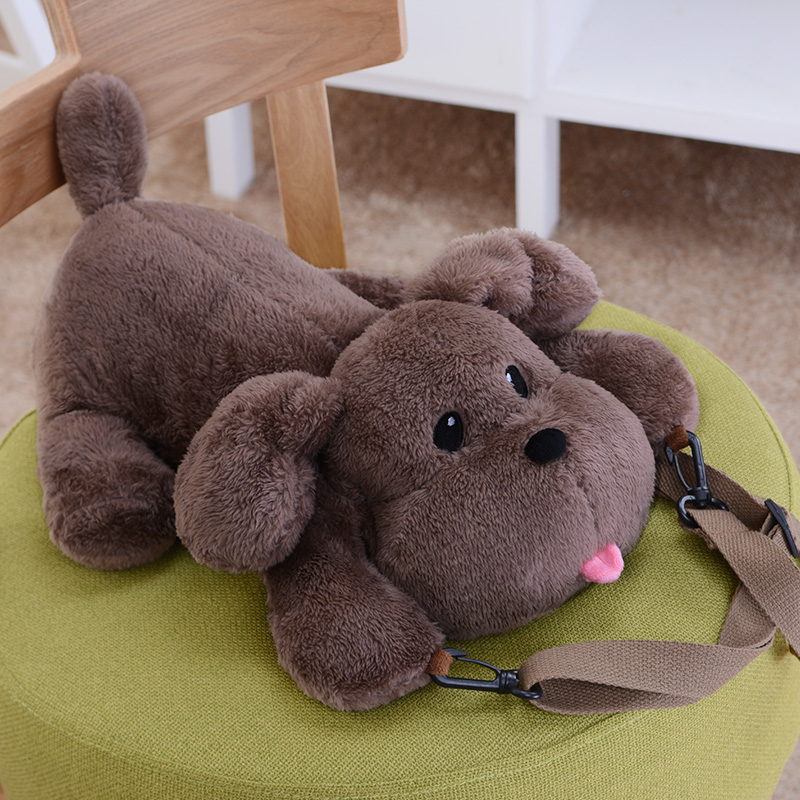 Anime YURI !!! on ICE Cute Poodle Dog Plush Doll Toy Crossbody Bag Shoulder Bag Handbag Cosplay Gifts anime yuri on ice cosplay yuri plisetsky cos 2017 new casual cartoon student campus backpack child gift