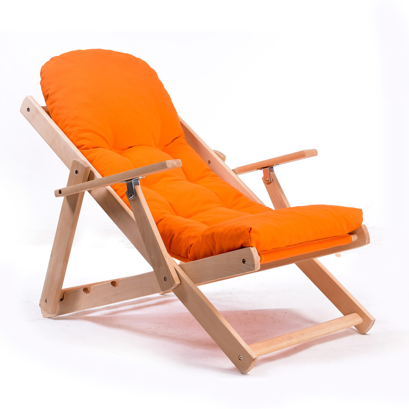 Simple and stylish wood folding armchair-in Chaise Lounge ...