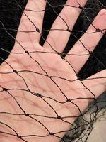 10 m black plastic mesh garden net net garden fence net decoration Halloween decorations
