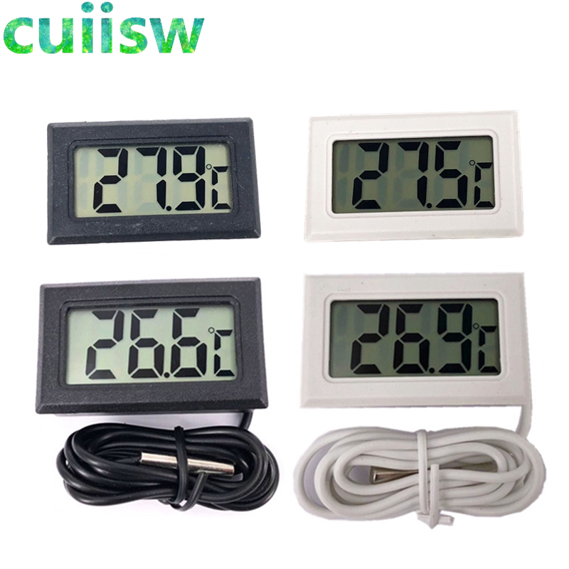 1 Stücke Lcd Digital Thermometer Für Gefrierschrank Temperatur-50 ~ 110 Grad Kühlschrank Kühlschrank Thermometer Gute QualitäT