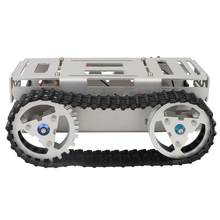 Aluminum Alloy RC Tank Chassis DIY Dual-drive Remote Control Tank Robot Crawler Car Chassis Base Platform Kit RC Accessory A-05(China)