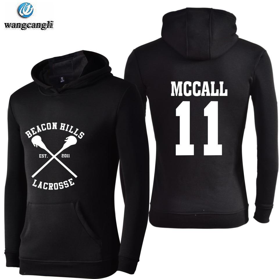 2019 Stilinski 24 Tracksuit Oversized Hoodies Sweatshirts Streetwear Moletom Teen Wolf Hoodie Sweatshirt Men Women Plus Size 4XL