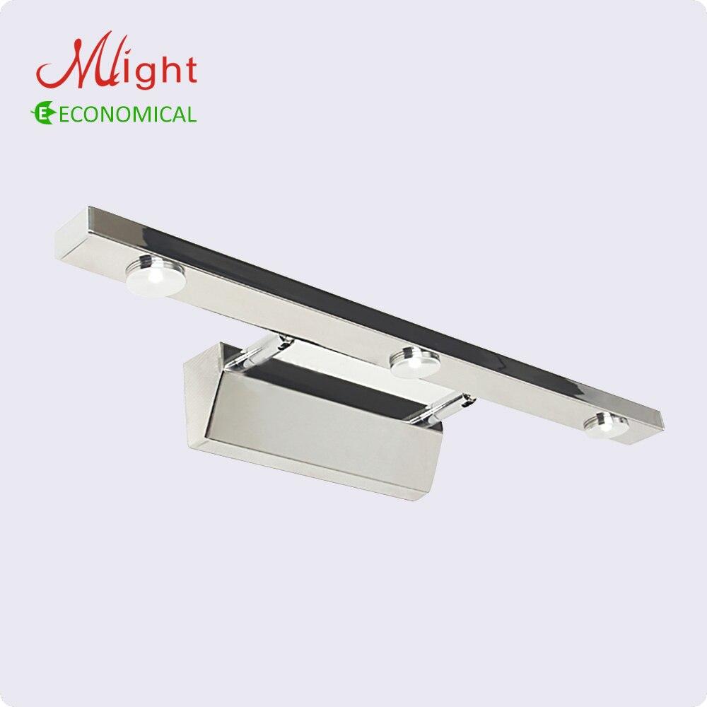 85 260 v 3 watt led spiegel frontlampe modernen anti fog led wandleuchte hochwertige