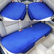 Universa siège de voiture protecteur tapis tapis Automobiles housses de siège avant siège arrière Auto couverture chaude velours siège de voiture coussin