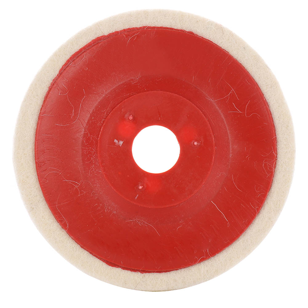 100mm Polishing Wool Wheel Buffing Pads Angle Grinder Wheel Felt Polishing Disc For Metal Marble Glass Ceramics
