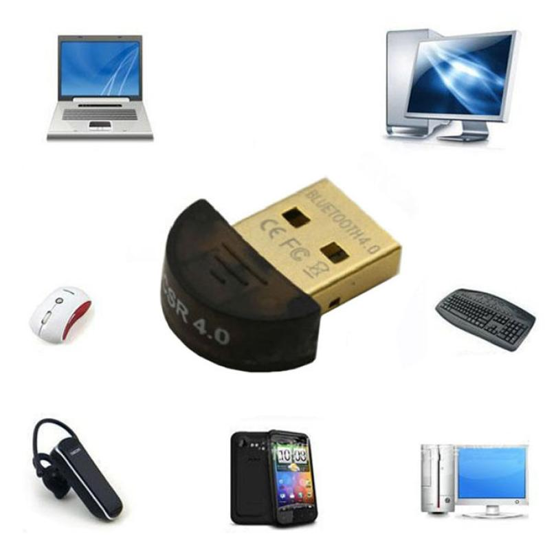 Best Price Mini USB Bluetooth V4.0 Dongle Dual Mode Wireless Adapter For Laptop PC
