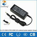 original Zoolhong for HP V3000 V3700 V3900 520 notebook power adapter charger 18.5V 3.5A transformer wire feed