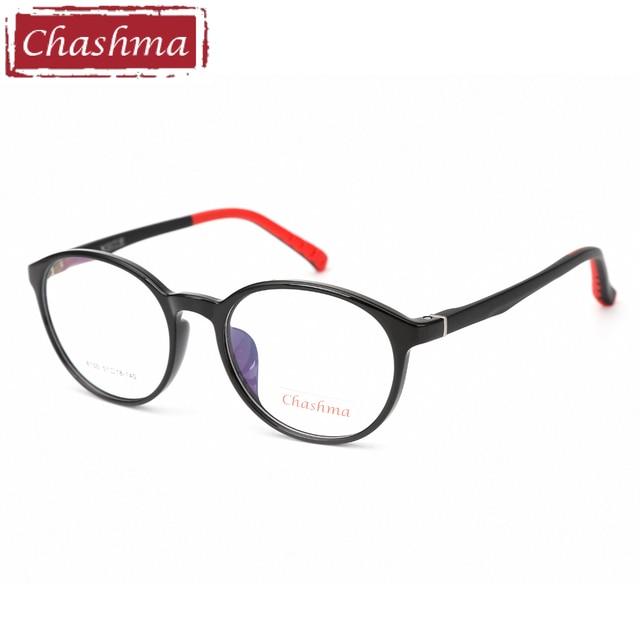 561f821b521 Chashma Brand Quality Eyeglasses Students Glasses Kids Fashion Design Retro Optical  Frame TR90 Frame Child Flexible Frames Round