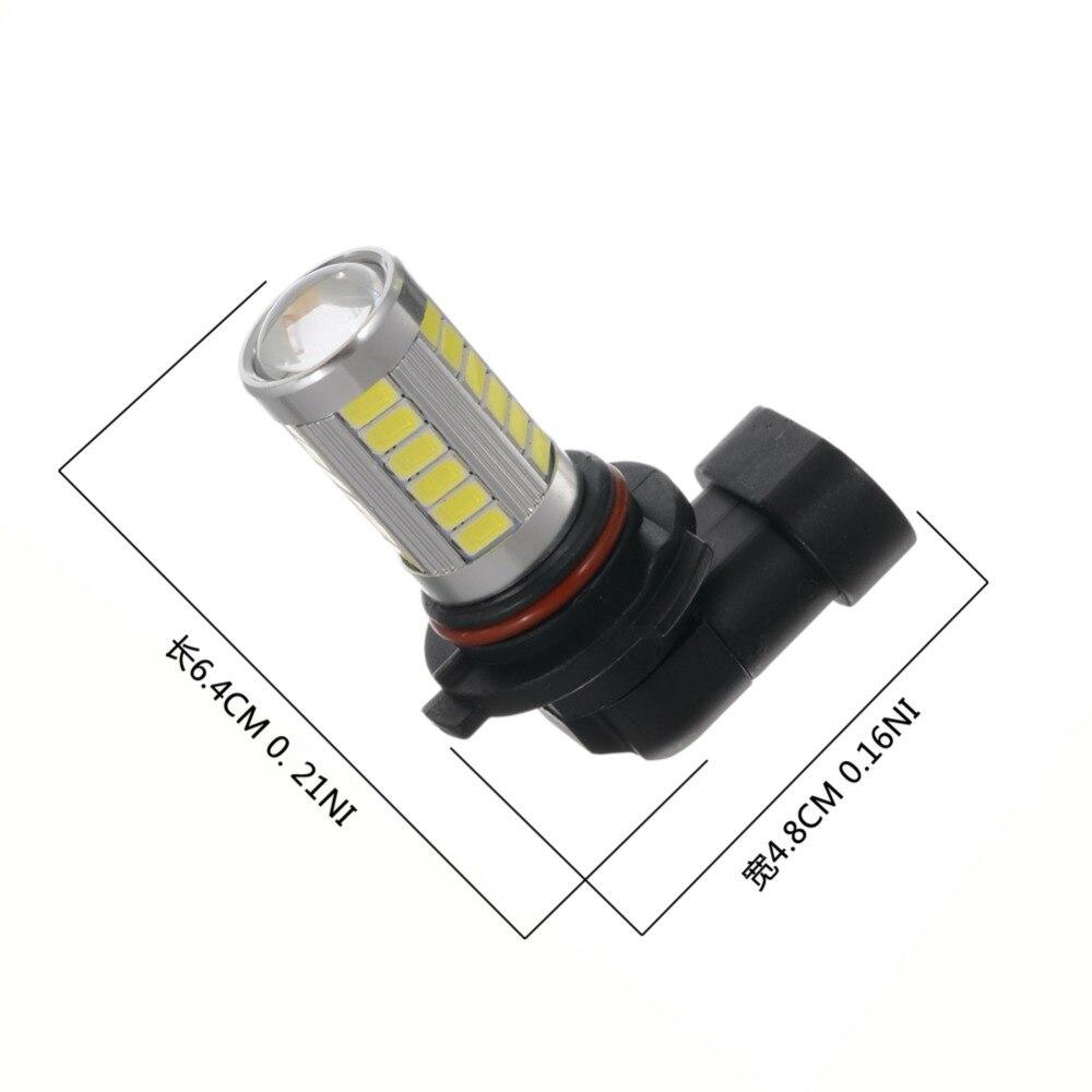 2Pcs Car H8 H11 Led 9005 9006 T20 33SMD LED Fog Lamp Running Light Bulb Turning Parking Bulb DC12V 9449 X2