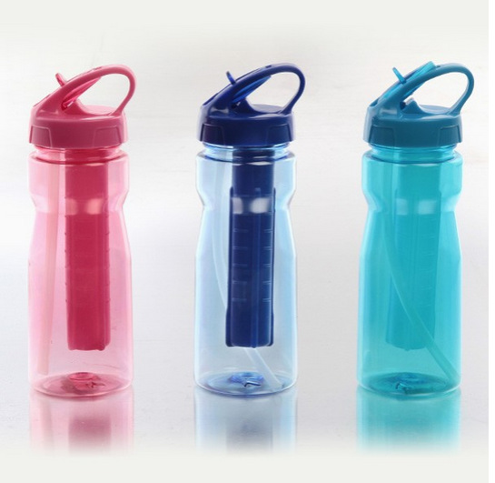 Tritan BPA free plastic sports cup water bottles Top quality Camping eco friendly Ice stick water bottle in Tool Parts from Tools