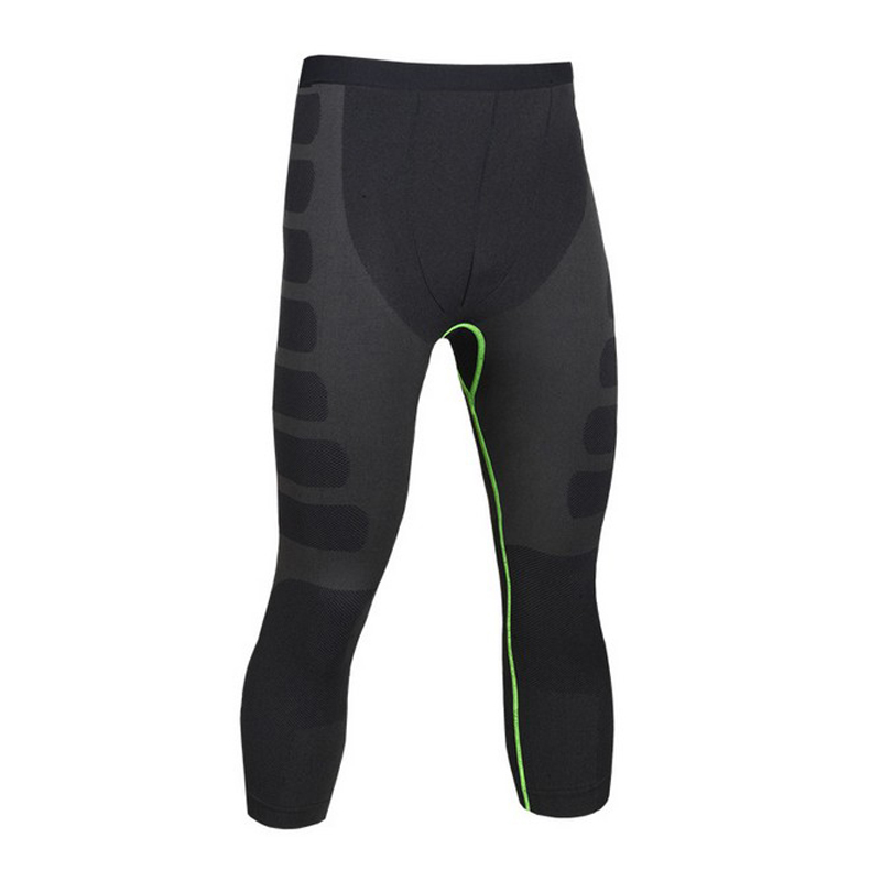 Men Compression Pants High Elastic bodybuilding Fitness skinny Quick-Dry leggings trousers Breathable Bike fitness Jogging Pants