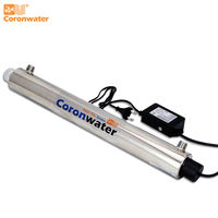 Coronwater Water Filter 6 gpm UV Disinfection Water Sterilizer SEV 5565