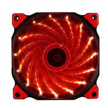 Pc bilgisayar 16dB Ultra Sessiz 15 LEDs Vaka Fan Soğutucu soğutucu Soğutma pc fan