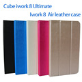 """Free shipping original pu case for 8"""" Cube iwork8 Ultimate / iwork8 air quad core Tablet PC, iwork8 Ultimate Iwork8 air case"""
