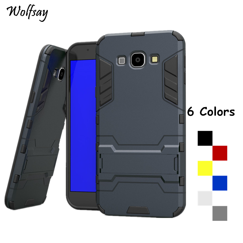 Wolfsay For Cover <font><b>Samsung</b></font> Galaxy A8 Case A800 Shockproof Armor Phone Case For <font><b>Samsung</b></font> Galaxy A8 Phone Cover For <font><b>Samsung</b></font> A8 2015 image