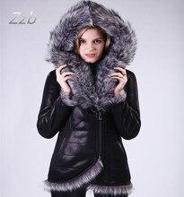 Manufacturer Direct Supplier S-7XL New Fashion Slim Women Winter Plush Jacket Fur Fox Collar Faux Sheepskin Fur Coat Resist cold
