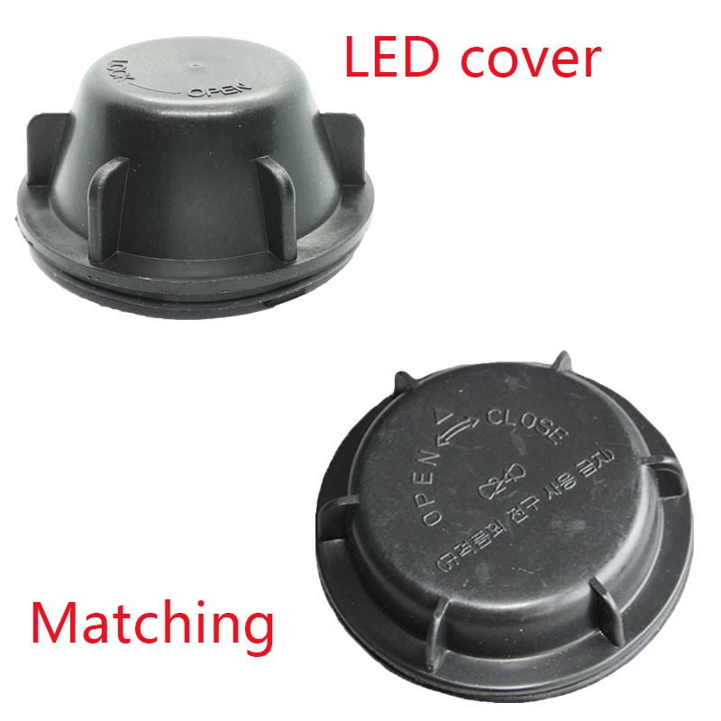 Image 5 - 1 piece Black LED bulb lengthened plastic cover PVC hid caps for Tucson Car headlamp bulb overhaul cover-in Car Light Accessories from Automobiles & Motorcycles