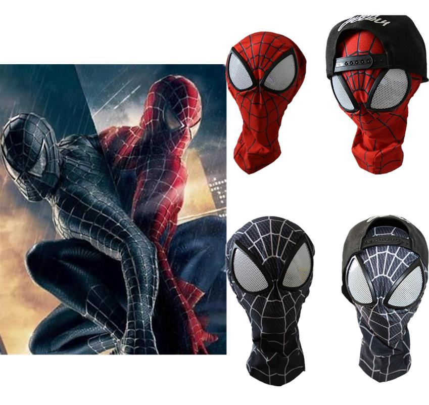 3D Spiderman Mask Adult Spider-man Lenses Cosplay Costumes Halloween Masks