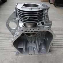 Быстрая, дизельный двигатель 186F 186FA, чехол коленчатого вала с воздушным охлаждением, коробка коленчатого вала, костюм для kipor kama и китайского бренда