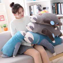 Free shipping  New Arrival Plush Sloth Toy Stuffed Animals Doll Toys super soft pillow for children girlfriend birthday  gift недорого