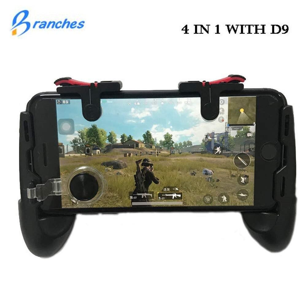 Controlador de jogo gamepad joystick do telefone móvel Universal botões de fogo 5.0 ~ 6.0 polegada do telefone móvel para Android iphone IOS gamepad