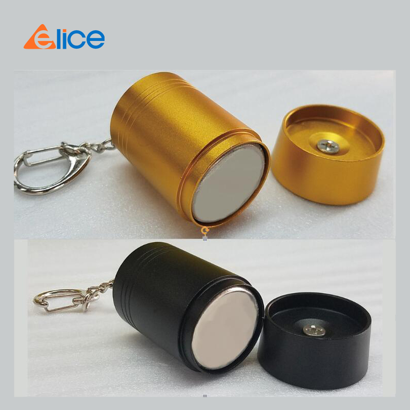 Free Shipping] 1 PCS 10000 Gs EAS  Security Gold/black Color Mini Bullet Hard Tag Remover Detacher For Clothes Store Worker