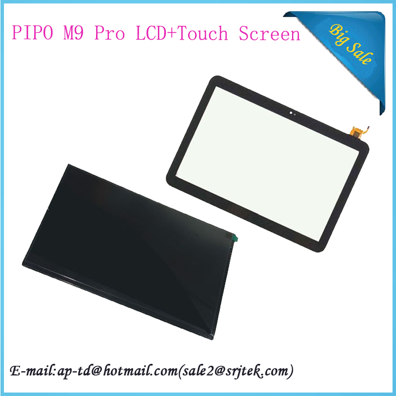 10.1 B101UAN01.7 LCD Display For PIPO M9 Pro Monitor+Touch Screen Digitizer Glass Sensor Assembly Tablet Pc Replacement Parts