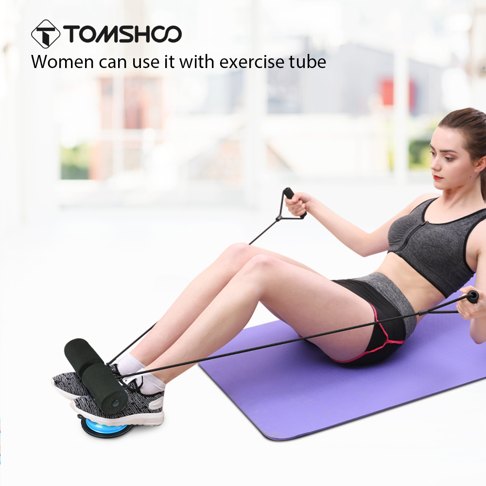 TOMSHOO Self-Suction Sit Up Bars Stand Fitness Equipment Abdominal Core Strength Home Gym Muscle Training Situp Assist Bar Stand leyaton mekik çekme aleti