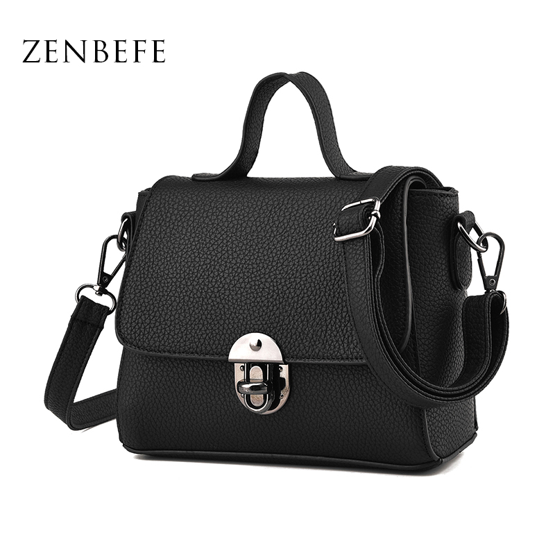 ZENBEFE New Women Messenger Bags Fashion Women Shoulder Bags Crossbody Bag Small Women Handbag PU Leather Bag Clutch Purses картридж canon pfi 706 r 6687b001 6687b001