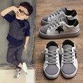Tamanho 26-37 100% artesanal de couro genuíno crianças shoes sapatilhas meninos meninas sapato casual sport shoes bebê crianças shoes tx0569