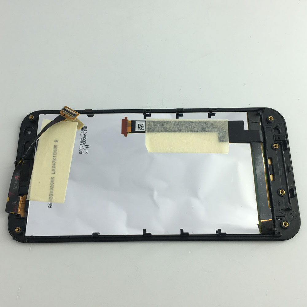 Tablet Lcds & Panels 5pcs/lot For Asus Padfone 2 Ii A68 Touch Screen Digitizer Sensor Glass Lcd Display Monitor Panel Assembly With Frame Bezel Black Tablet Accessories