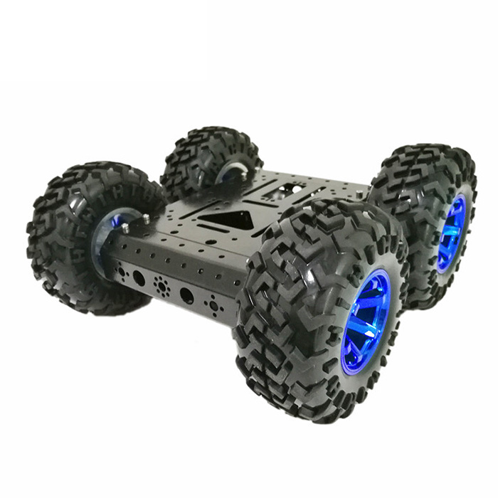 цена на SZDoit C3 Smart DIY Robot KIT 4WD 4-wheel 12V Motor