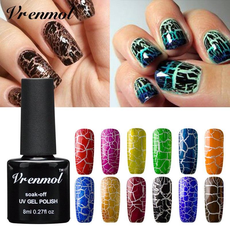Vrenmol 1pcs Professional Cracking Shatter Gel Nails
