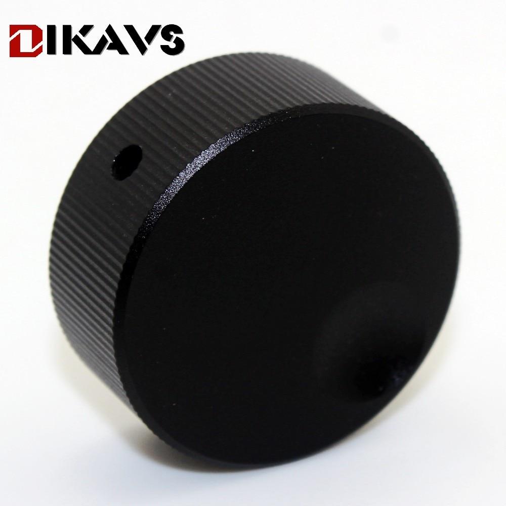 1pcs 32*13mm Audio Multimedia Speakers Aluminum Knobs Volume Adjustment Knobs - Black ...