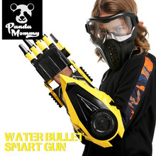 цена на Airsoft Orbeez Guns Water Gun Transformation Robot Arm Cosplay Electric Water Bullet Guns Toy for Boys