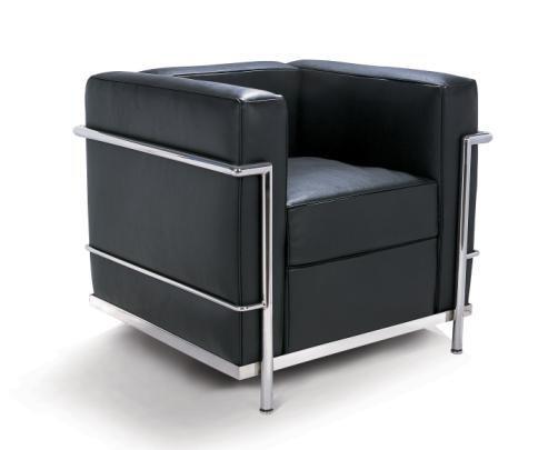La chaise longue lc di le corbusier