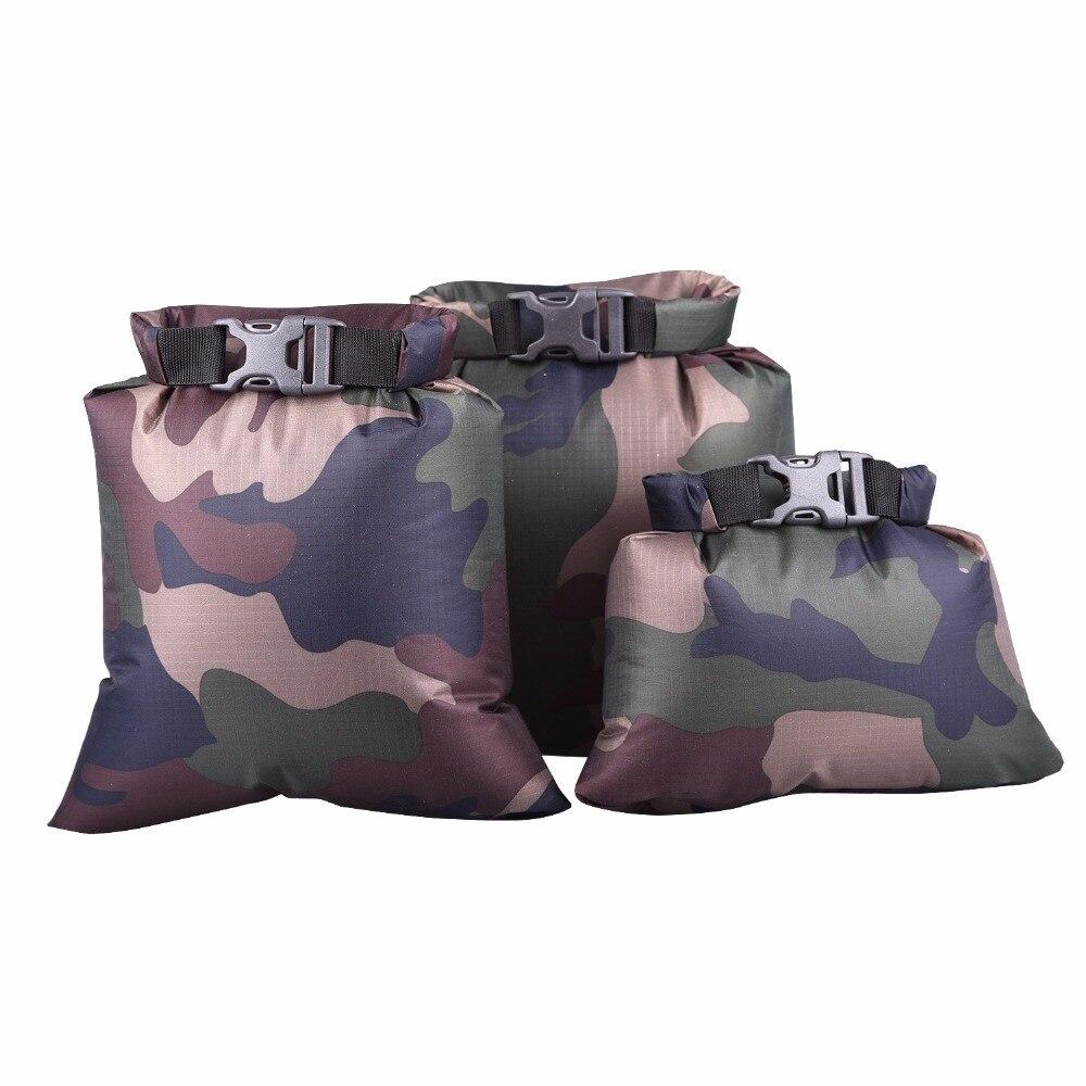 set of Outdoor waterproof bag 3-Size Set rafting upstream Creek packing bag lightweight waterproof compression swimming bag