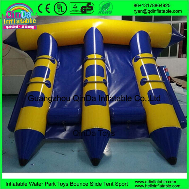 inflatable flying fish banana towable boat64
