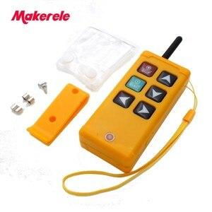 Image 2 - Makerele MKLTS 6 6 teclas de Controle industrial Controle Remoto transmissor + receptor 1 1 DC12V 24 V, AC36V 110 V 220 V 380 V