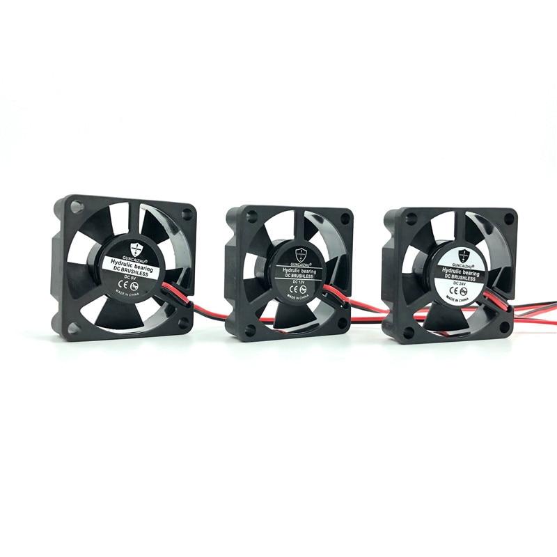 Best Silent 3510 Fan 35x35x10MM 24V 12V 5V Fluid Bearing 35mm Video Card Brushless Cooling Fan 2pin Ventilator