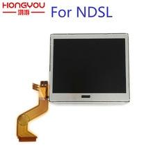 מקורי החלפת למעלה LCD תצוגה עבור NDSL מסך Pantalla עבור Nintendo DS Lite NDSL משחק אבזרים