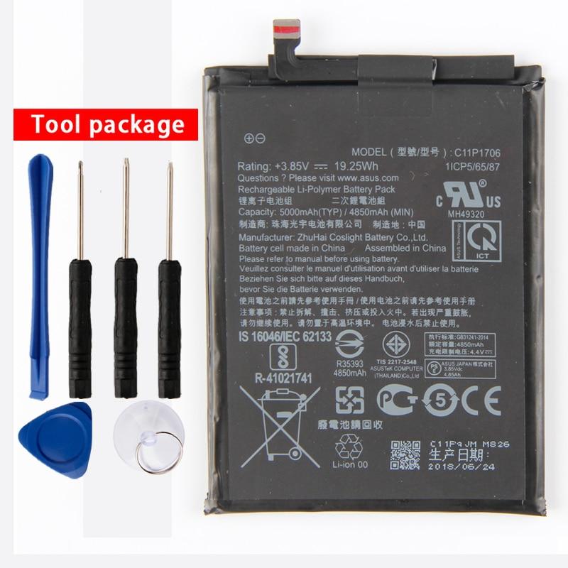 Orginal C11P1706 Phone Battery For Asus ZB602KL AIR / COS POLY 4H 4A 4850mAh