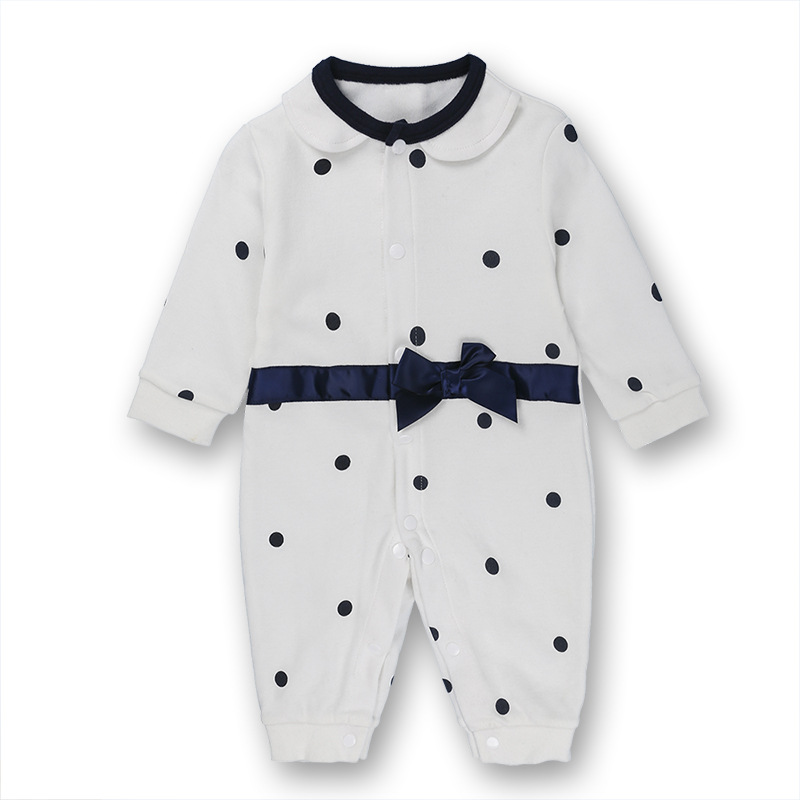Toddler Baby Rompers Autumn Roupas Infant Jumpsuits Boy Clothing Sets Newborn Baby Clothes pilot Cotton Baby Clothing in Rompers from Mother Kids