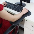 And double purpose computer hand carrier / arm support mouse pad wrist pad chair armrest plate