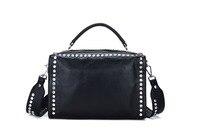 2017 Genuine Leather Women Handbags Fashion Design Elegant Bags Real Cowhide Genuine Leather Bag Luxury Shoulder