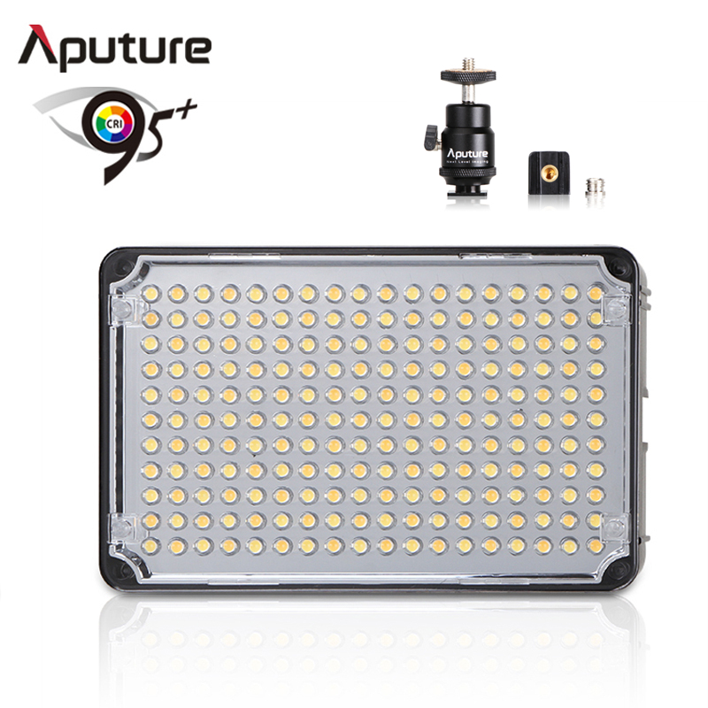 цена на Aputure AL H198C LED Video Light Amaran CRI 95+ Lamp 5500K 3200K Dimmable for Canon Nikon Pentax DSLR Camera Video Camcorder