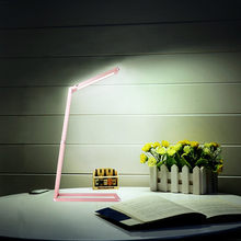 LED Desk Lamp,Transformers Dimmable Portable Table Lamp, Built-In Battery, Energy Efficient, Aluminum Alloy Foldable Lamp(China)