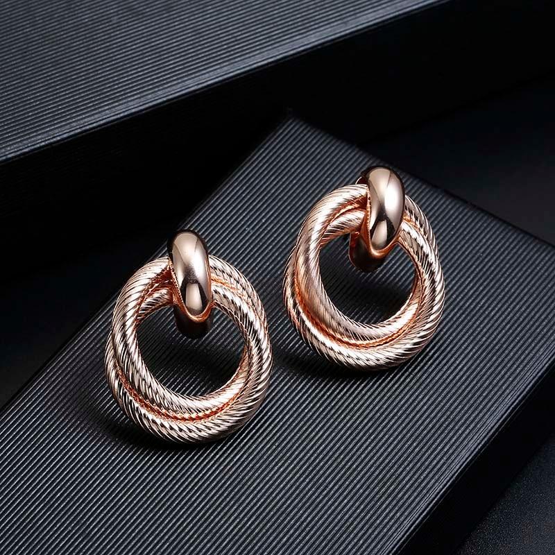 rose gold clip